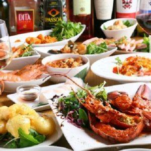 オマール海老付きコース料理11品&2時間半飲み放題5,500円_320x320_square_67408780-1