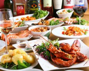 オマール海老付きコース料理11品&2時間半飲み放題5,500円_s_0096